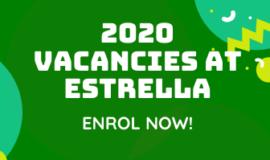 2020 Vacancies!